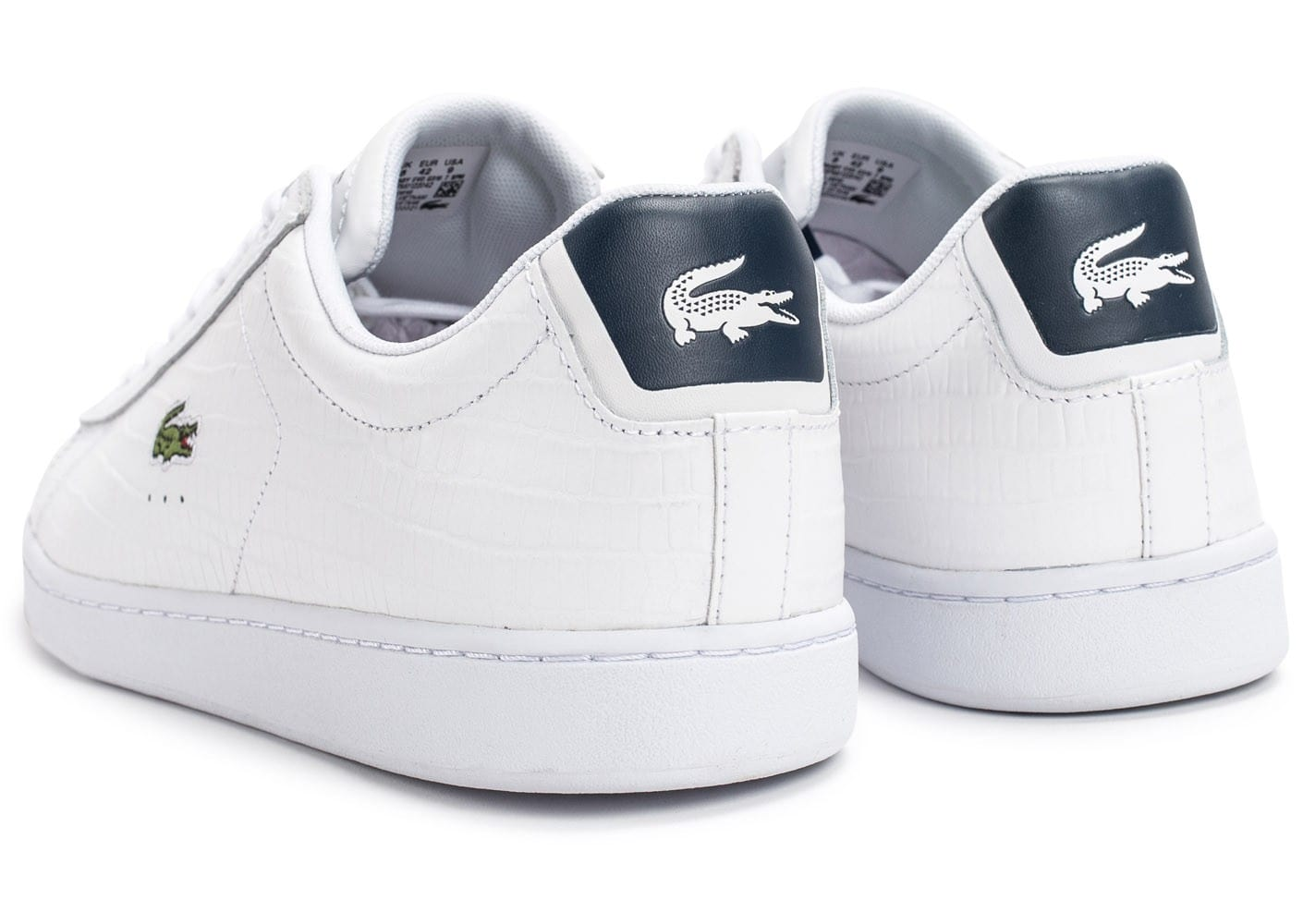 50025fb3ff1 Croc Evo Baskets Carnaby Chaussures Homme Blanche Lacoste Bleu SHwaqFwx