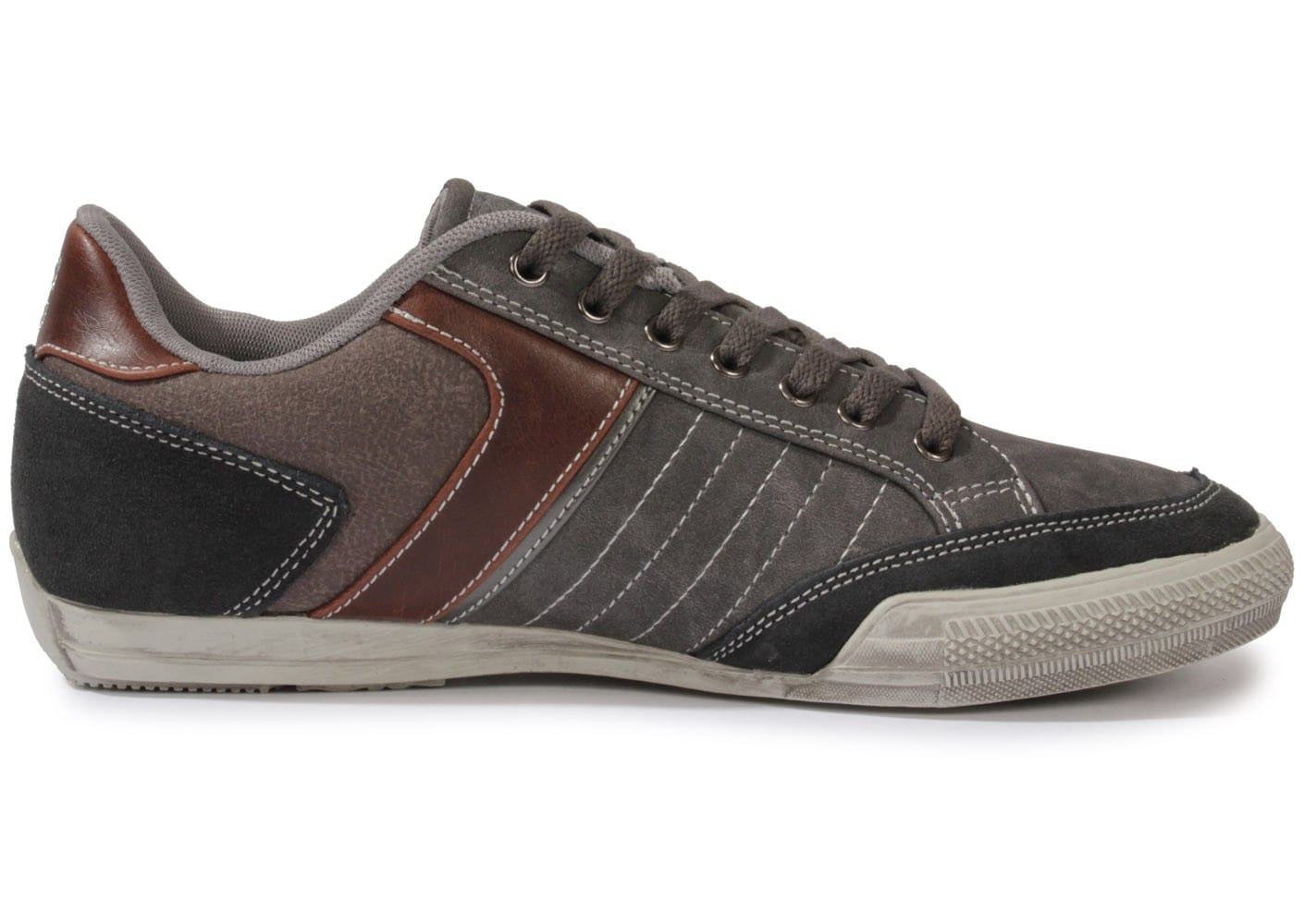 72ca99bc386d5 Carrera New Galles Grise - Chaussures Baskets homme - Chausport