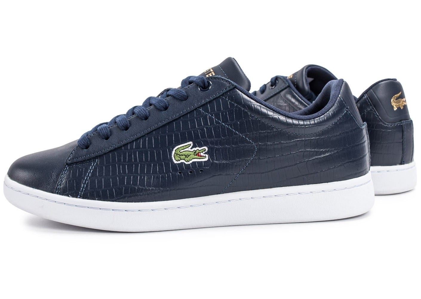 Chaussures Lacoste Trajet bleues Fashion femme viLBy5aW
