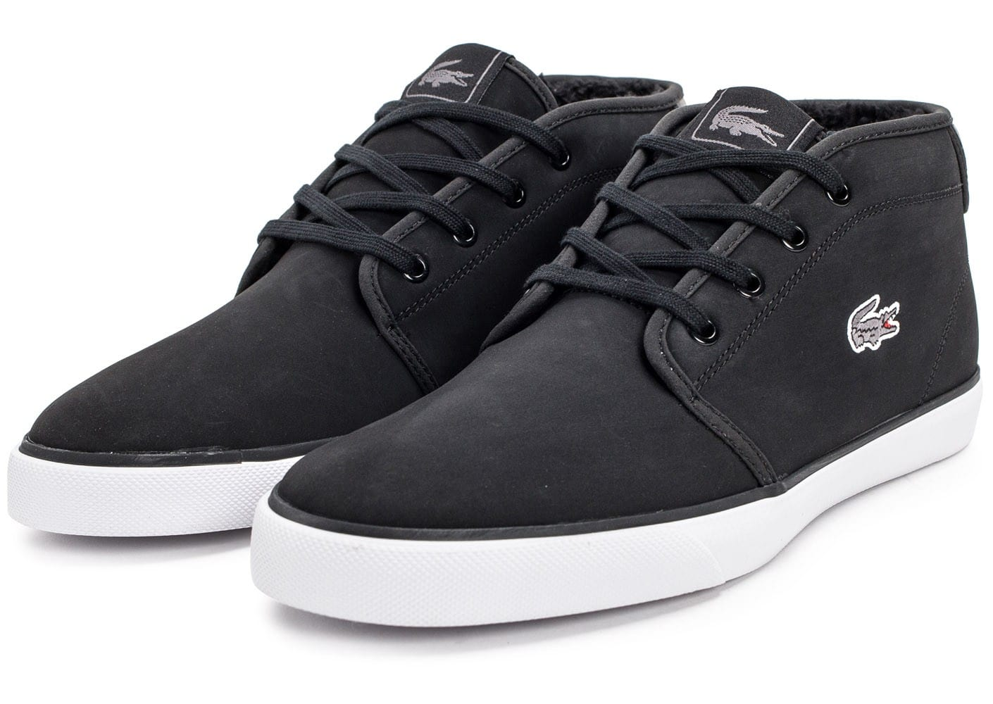 Lacoste Baskets Chaussures Ampthill Noire Homme Chausport vmnOwyNP80