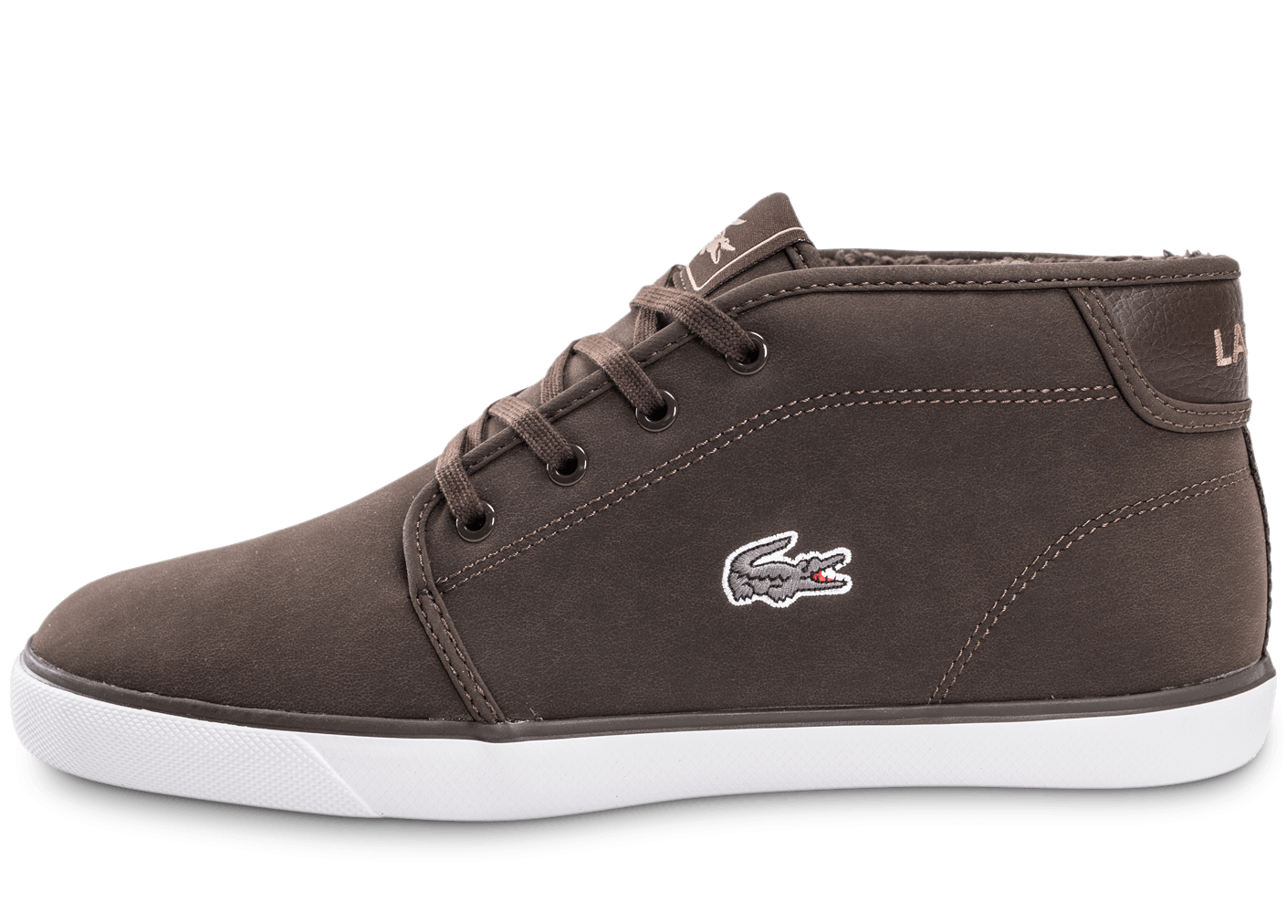 b91af25ee942 Chausport Ampthill Lacoste Homme Marron Chaussures Baskets CderxoQWEB