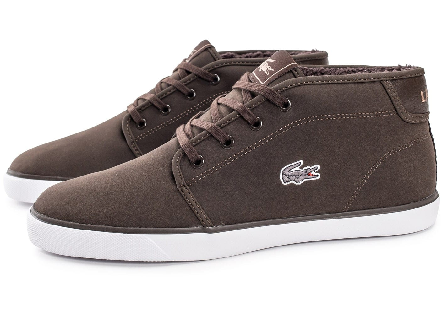 Marron Lacoste Ampthill Baskets Chausport Homme Chaussures Qdcobrwxe xdCrBoeW