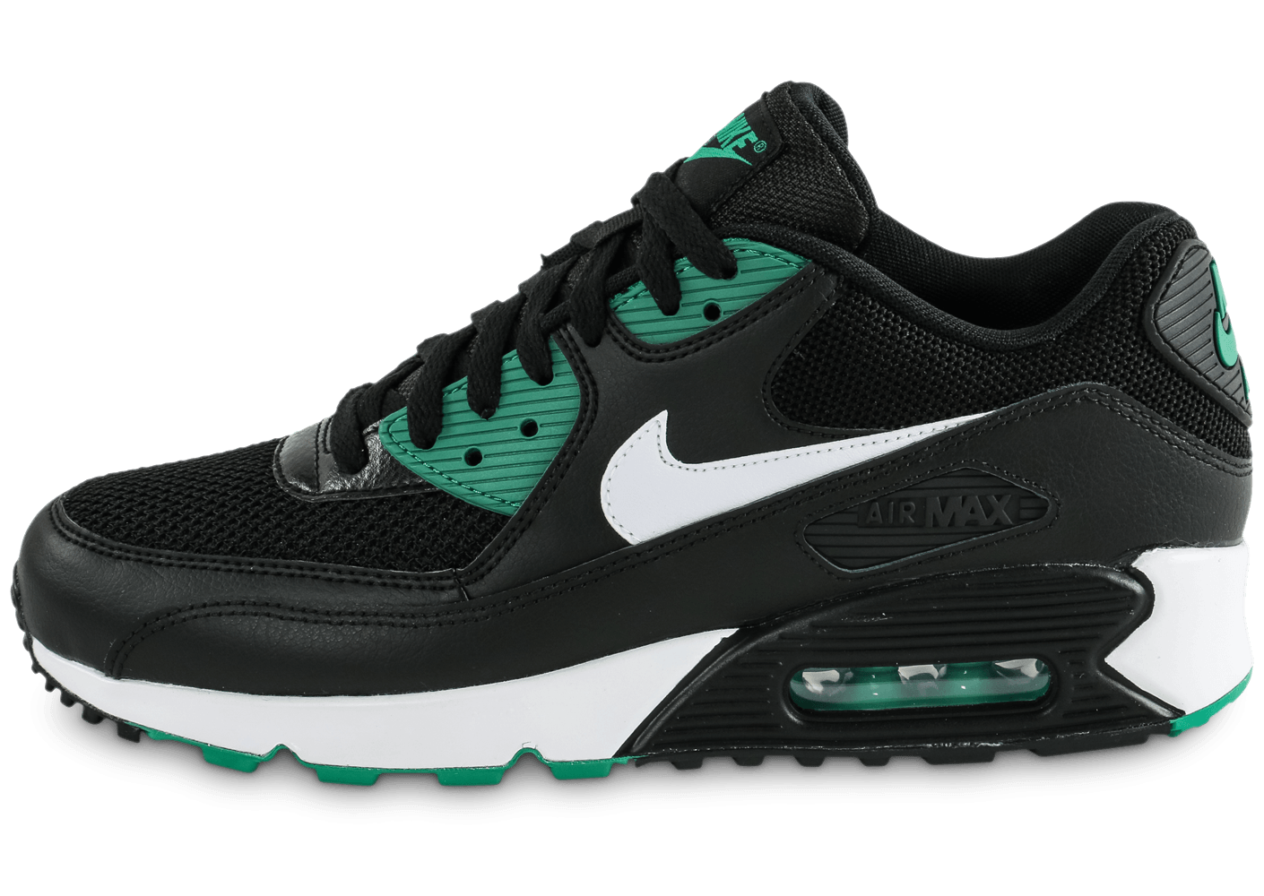 Nike Air Essential Max 90 Essential Air noir vert Chaussures Baskets homme 1501dc