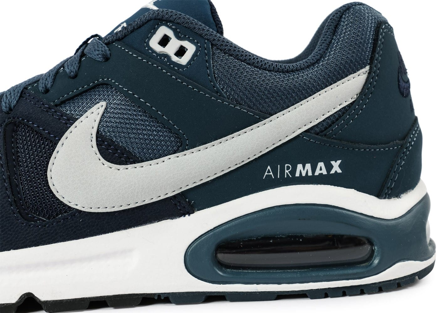 special sales shopping detailed look Nike Air Max Command bleu foncé - Chaussures Baskets homme ...