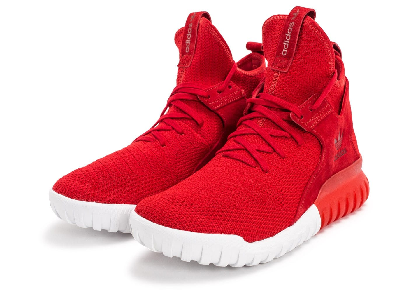 adidas tubular shadow rouge