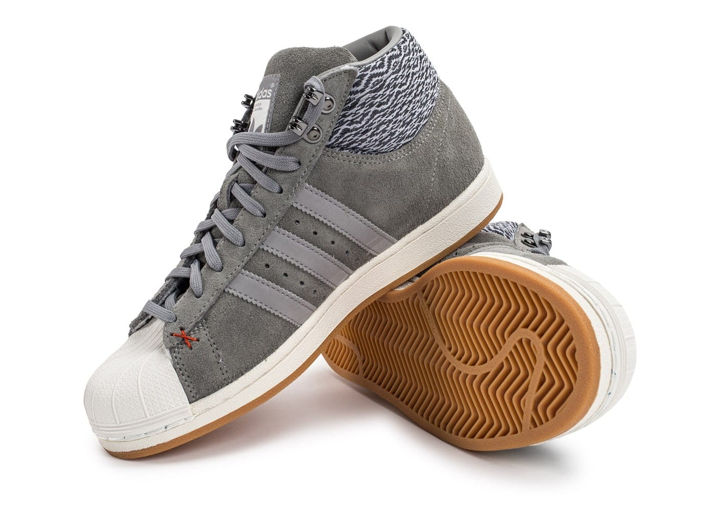 adidas Pro Model BT gris Chaussures Baskets homme Chausport