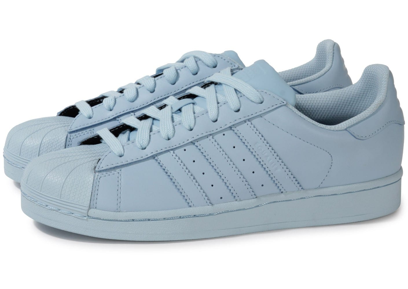 adidas Superstar Supercolor Bleu Ciel Chaussures Baskets homme