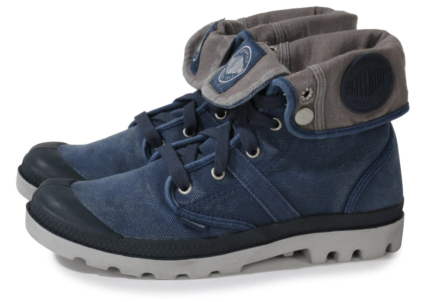 Us Homme Chaussures Baskets Palladium Navy Metal Baggy MpSUVz