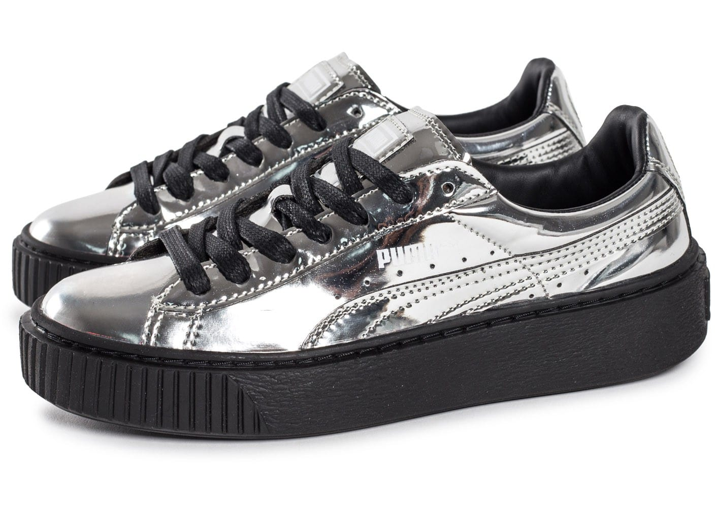 puma creepers argent