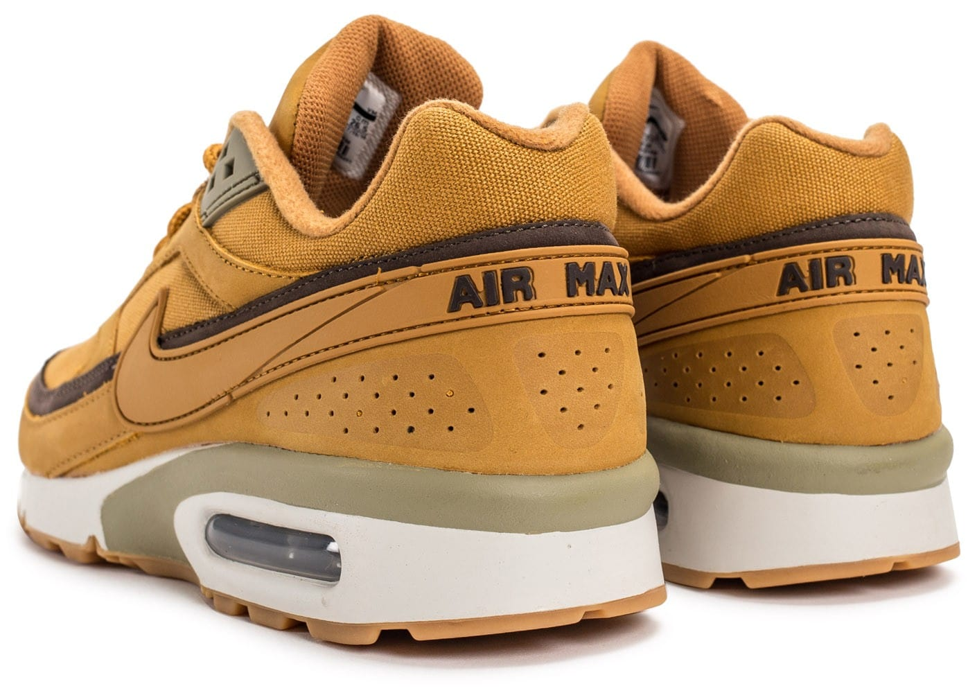 air max homme moutarde