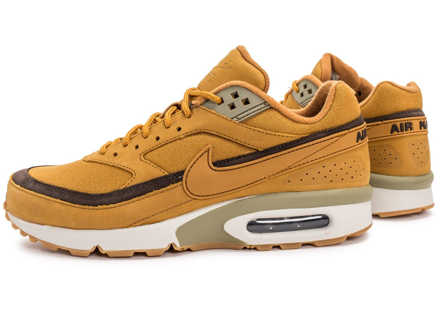 Nike Air Max BW Wheat Chaussures Baskets homme Chausport