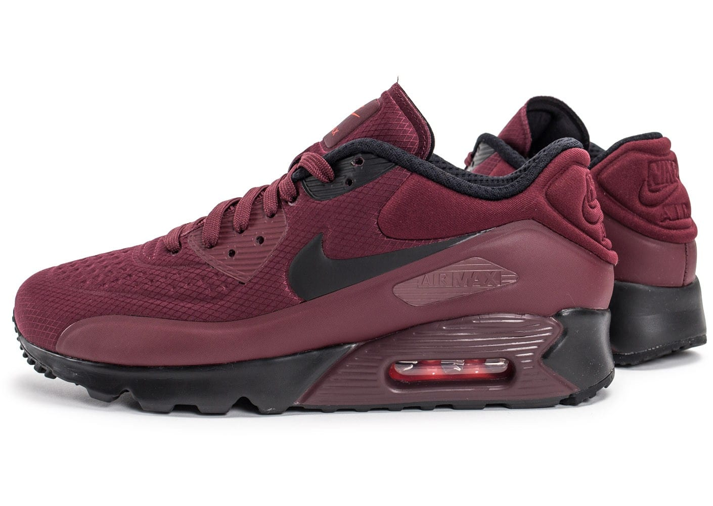 Nike Air Max 90 Ultra Essential rouge Chaussures Baskets