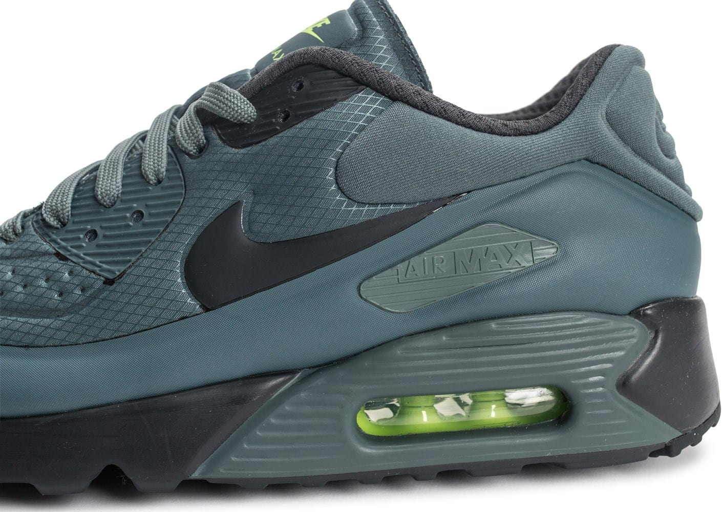 outlet store a303a 7bc1c ... Chaussures Nike Air Max 90 Ultra Se Hasta Green vue dessus