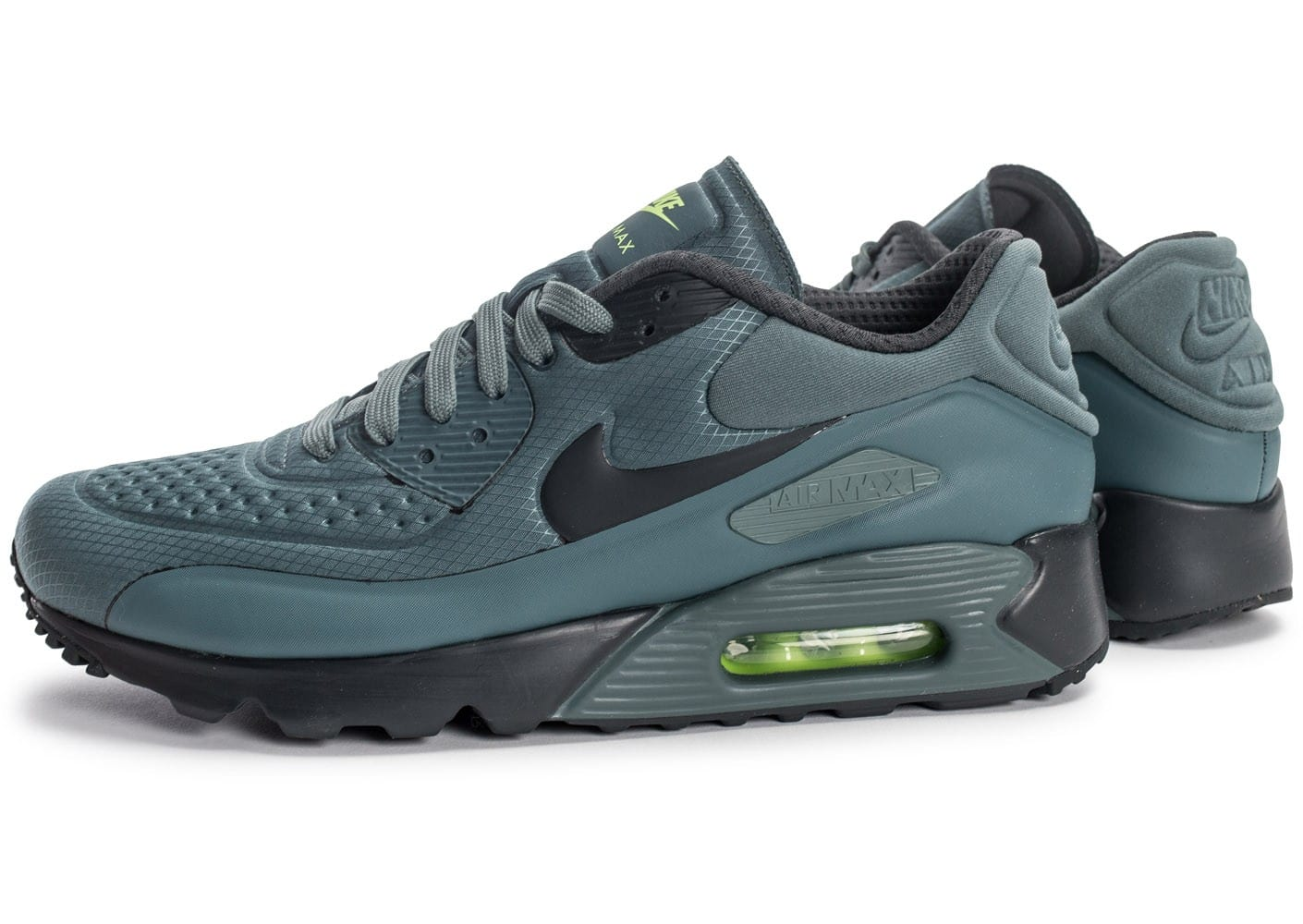 best loved 2f48f 00f74 Cliquez pour zoomer Chaussures Nike Air Max 90 Ultra Se Hasta Green vue  extérieure ...