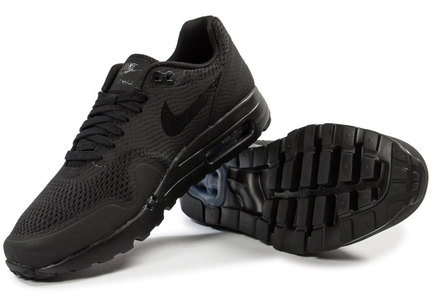 Nike Air Max 1 Ultra Homme Essential Noire Chaussures Baskets Homme Ultra 1df400