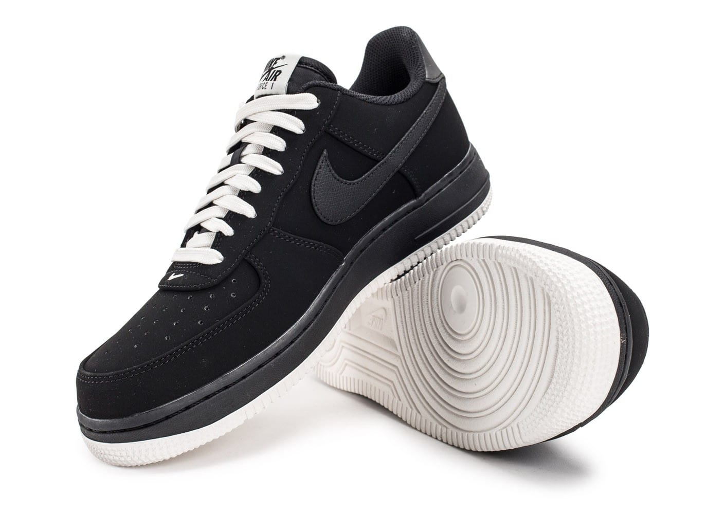 Nike Air Force 1 Low Black sail Chaussures Baskets homme