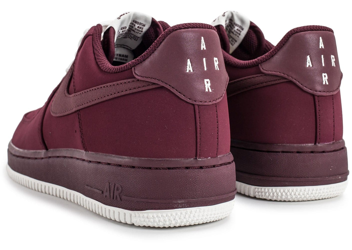air force 1 femme bordeaux