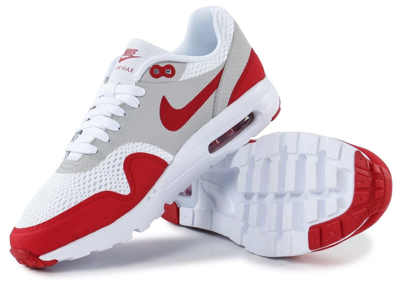 Air Blanc Rouge Max 1 Baskets Ultra Essential Nike Chaussures dXqpd