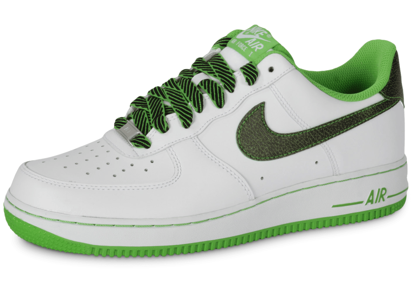 Low Force 1 Blanche Nike Vert Air Pomme xoBCde