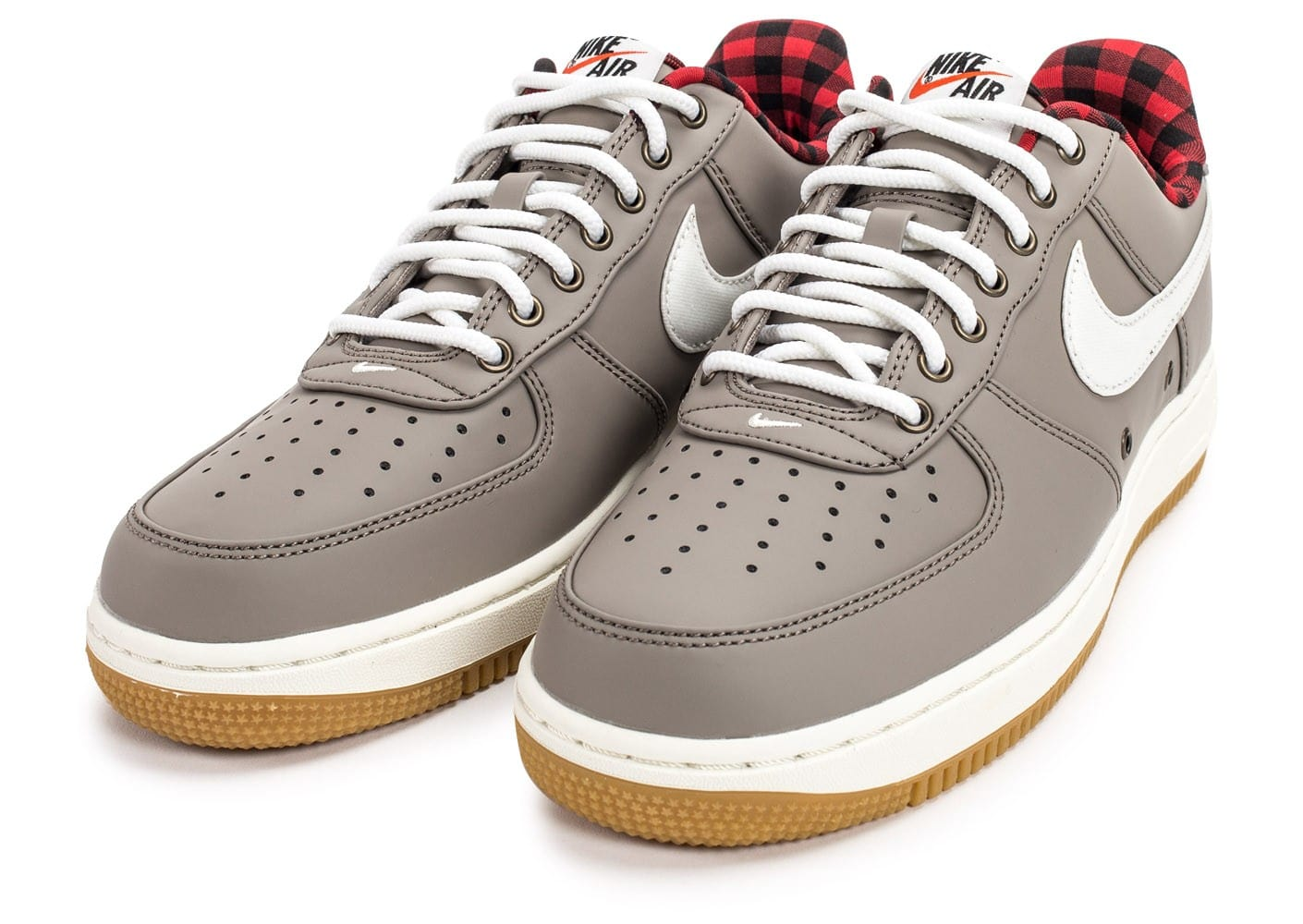 nike air force 1 39 07 lv08 lumberjack grise chaussures baskets homme chausport. Black Bedroom Furniture Sets. Home Design Ideas