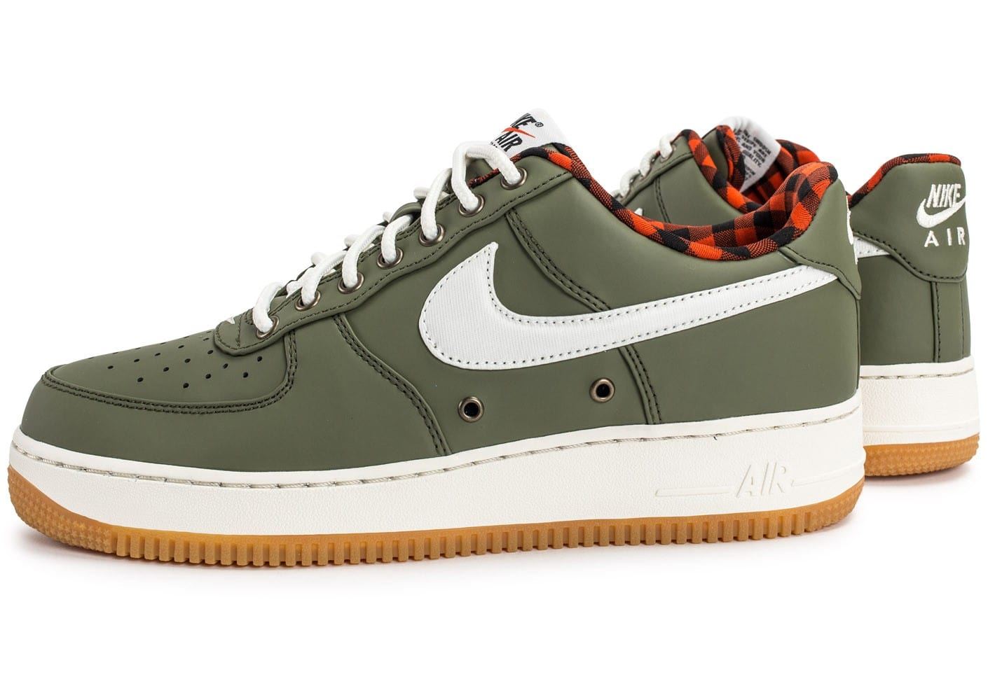 nike air force one homme blanche kaki