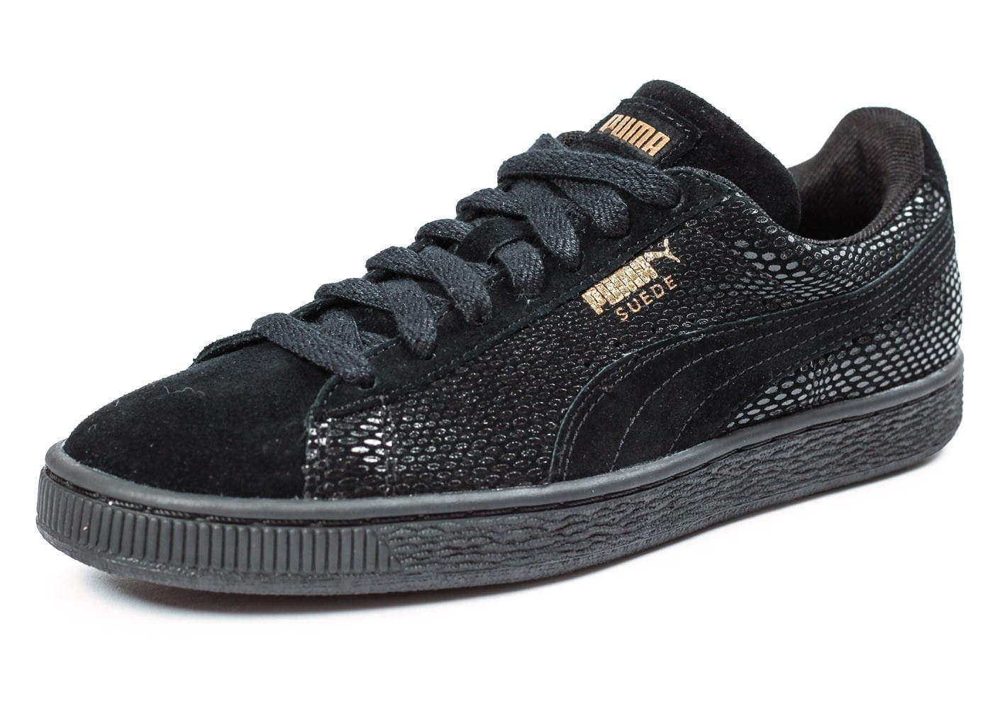 Puma Suede Classic GOLD Future is Female Chaussures