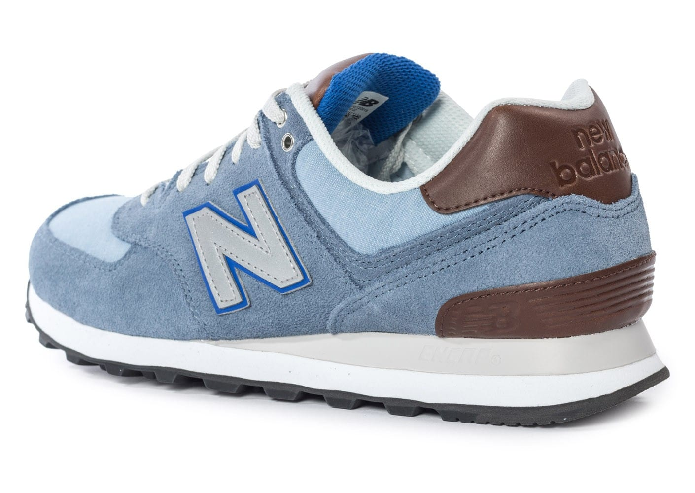 New Balance ML574 Bcd Casual Bleue Chaussures Baskets