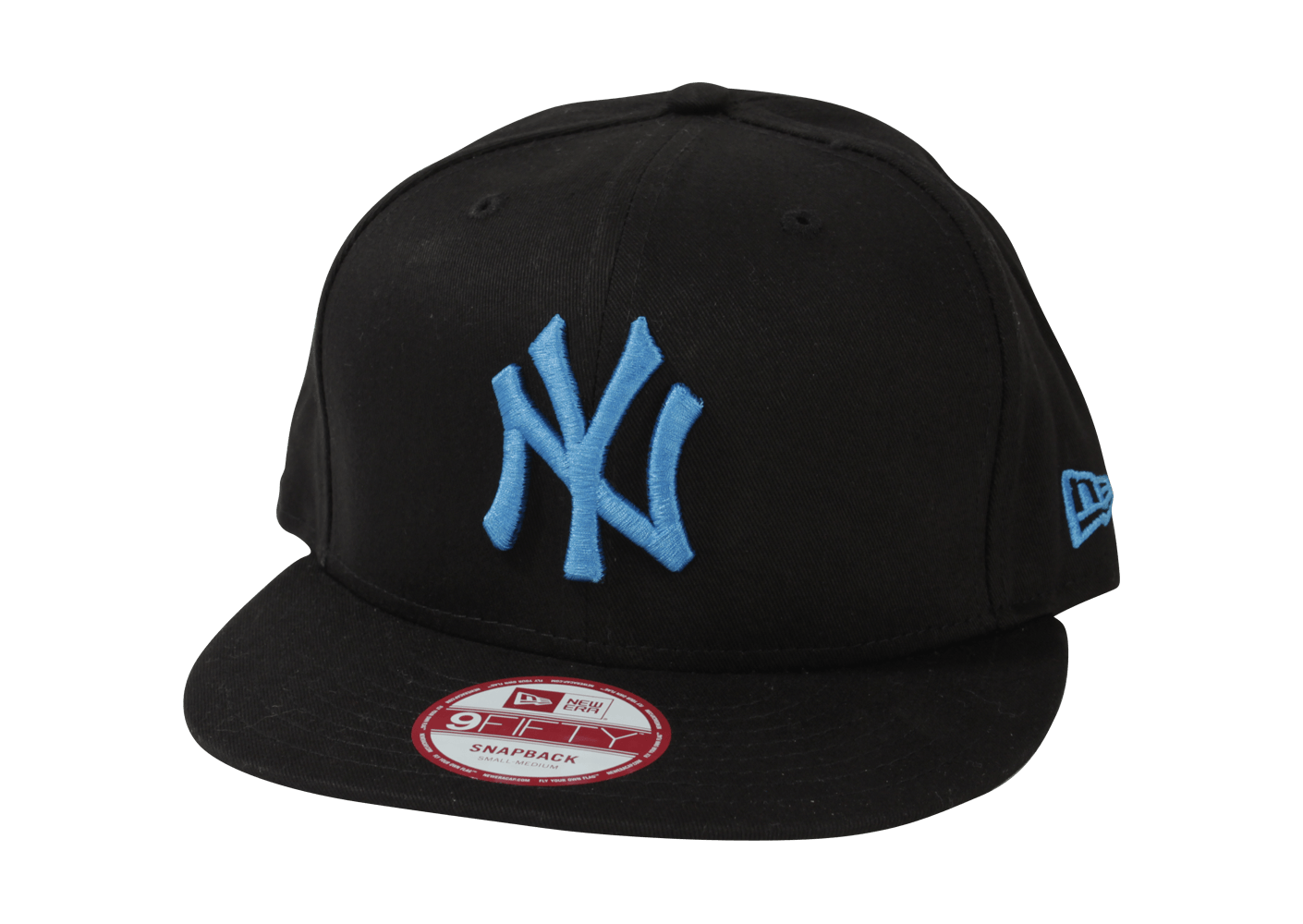 new era casquette snapback ny noir et bleu casquettes chausport. Black Bedroom Furniture Sets. Home Design Ideas