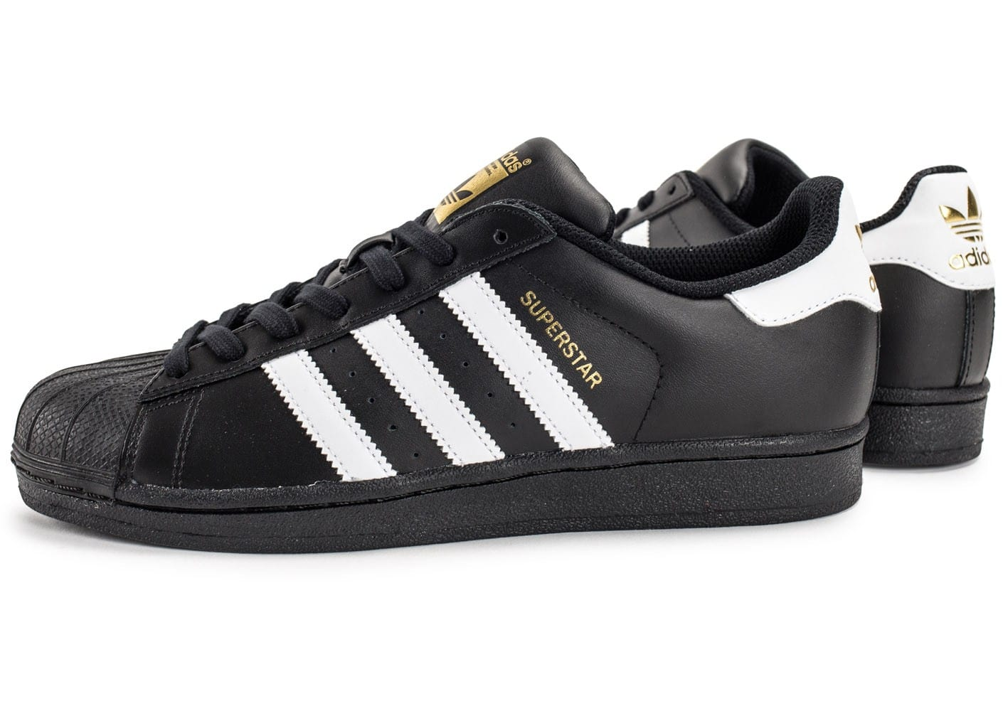 adidas superstar noir et orange