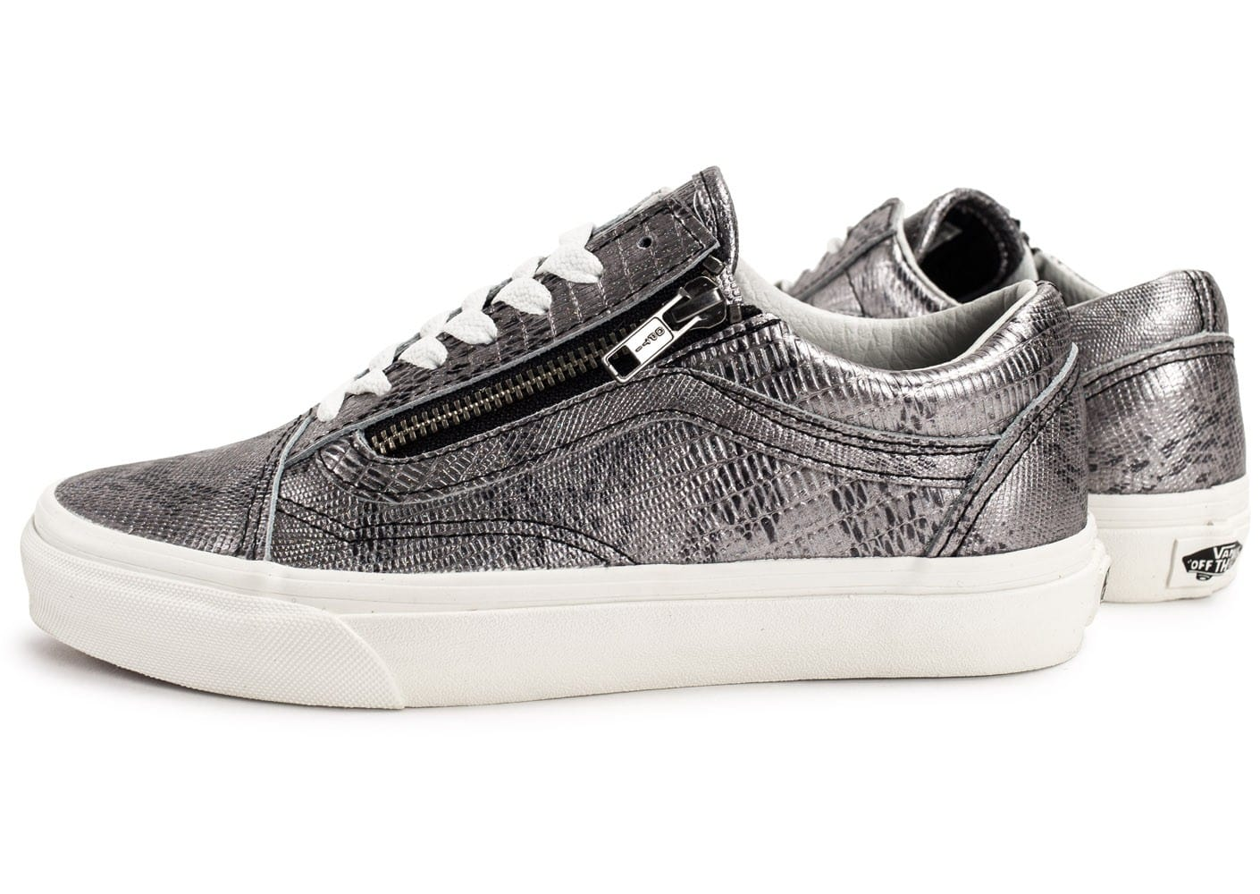 Vans Old Skool Zip Disco Python Chaussures Baskets femme