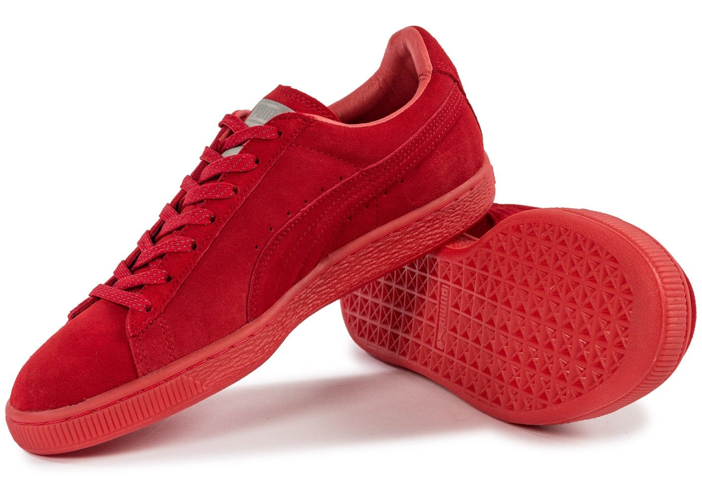 puma suede iced rouge