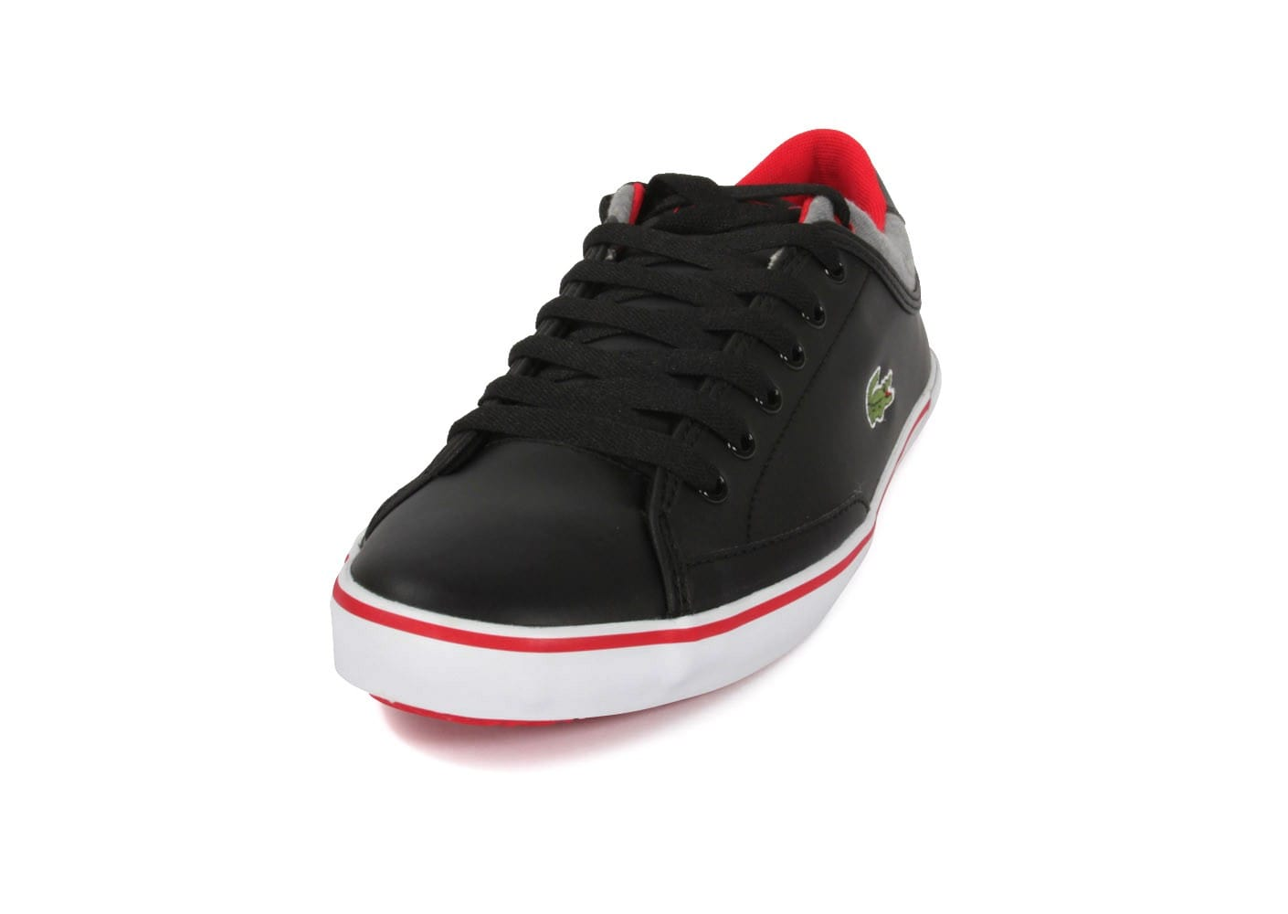 2b9c25715f3 homme Chausport Lacoste Chaussures Cuir Baskets Angha Noire wxYXrtzYq