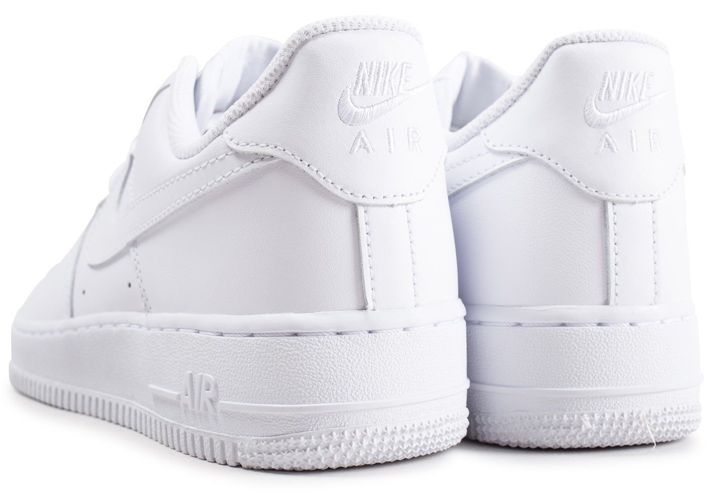mode designer 5c80a 8eef9 Nike Air Force 1 Blanche - Chaussures Baskets homme - Chausport
