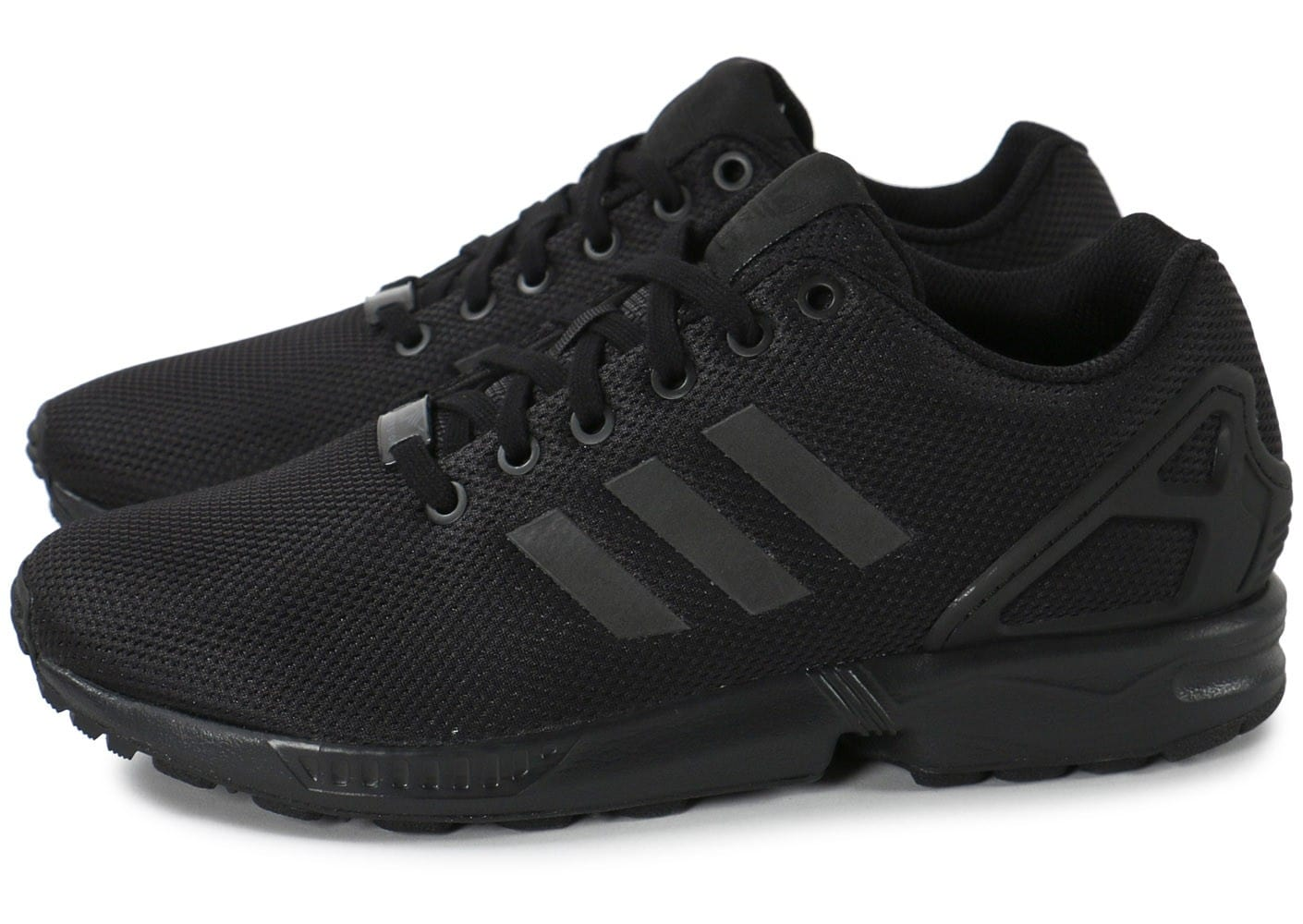 classic special for shoe latest adidas ZX Flux Triple Noir - Chaussures Baskets homme ...