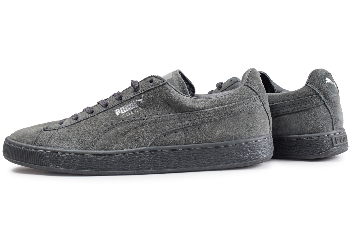 Puma Suede Classic Ref Iced grise Chaussures Baskets homme