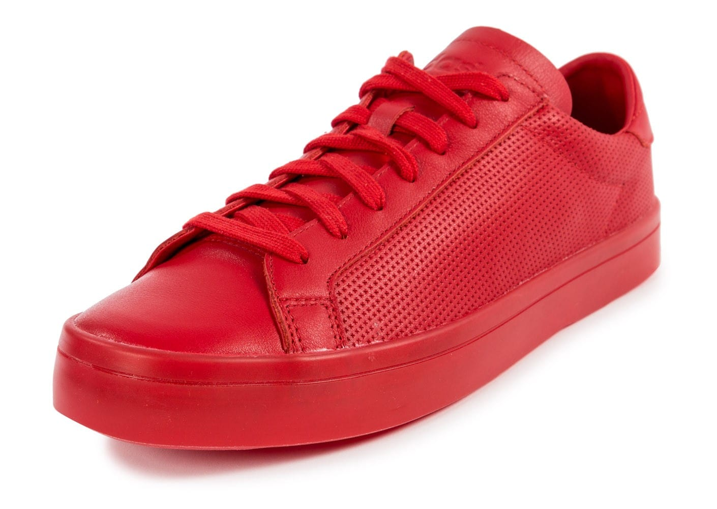 the latest 6a620 fe9a8 Vantage Adicolor Court Rouge Adidas Baskets Chaussures Homme