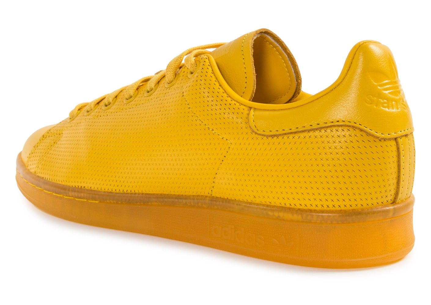 adidas Stan Smith Adicolor jaune - Chaussures Baskets homme ...