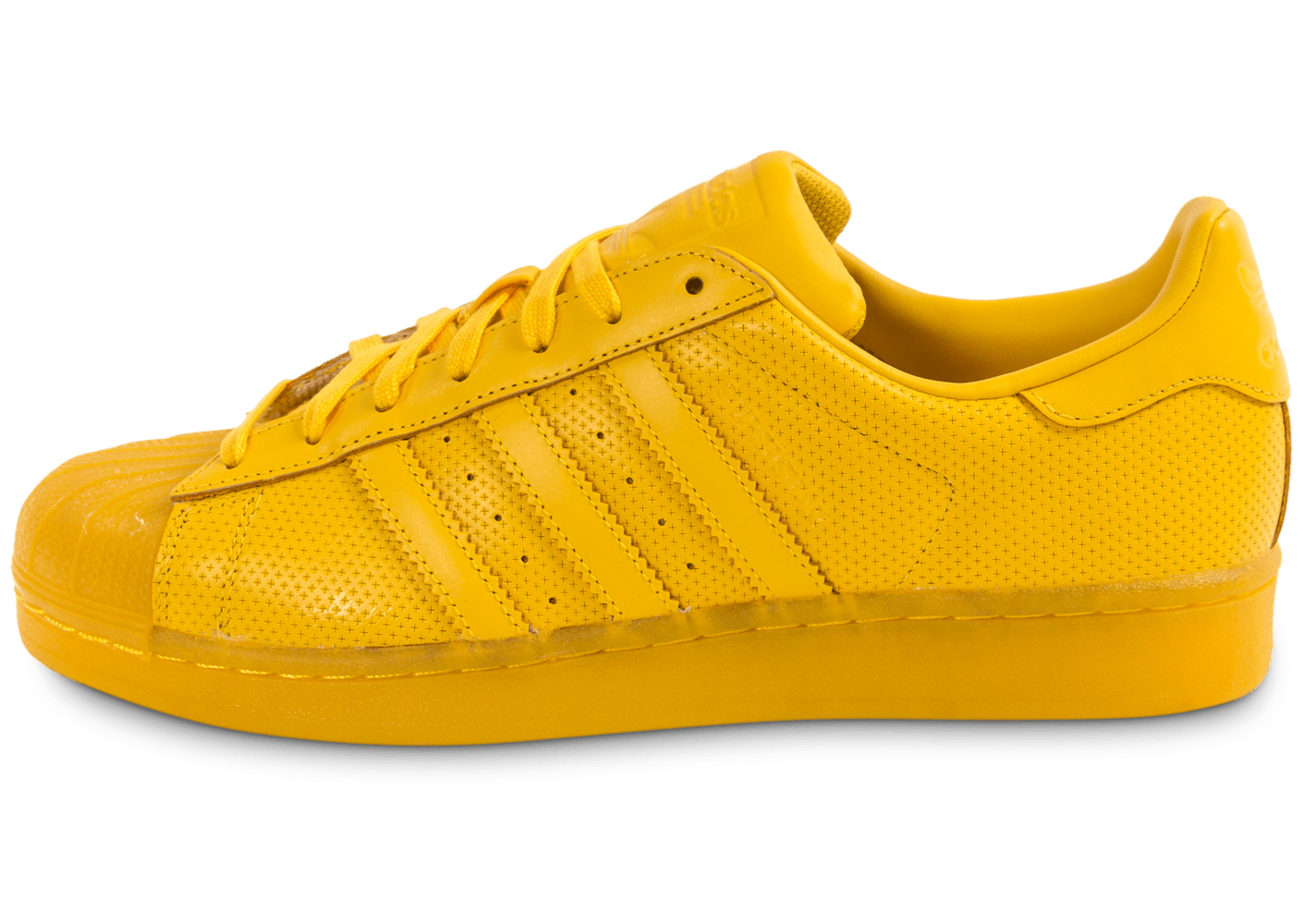 adidas Superstar Adicolor jaune - Chaussures