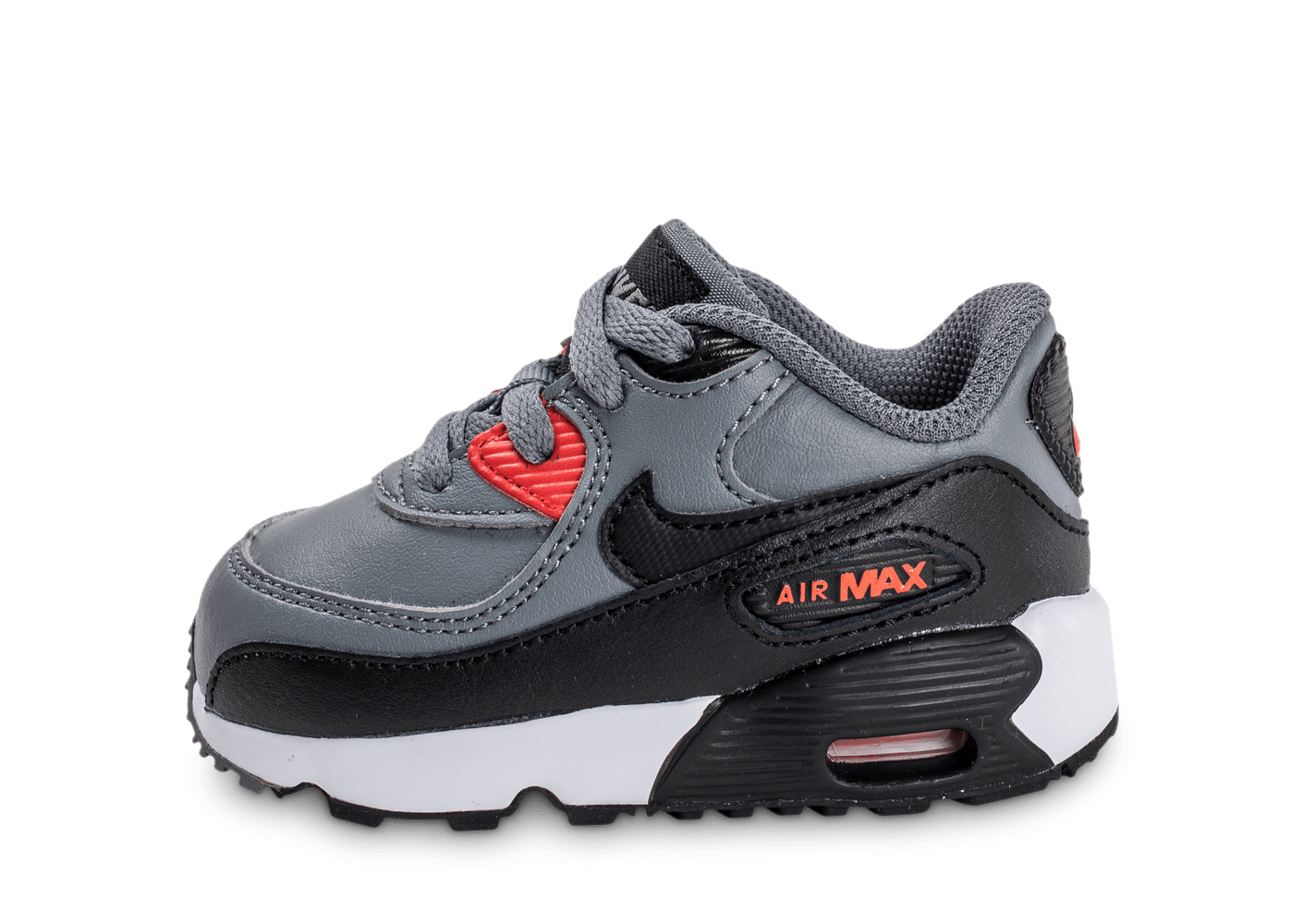 Nike Air Max 90 bébé mesh grise et orange