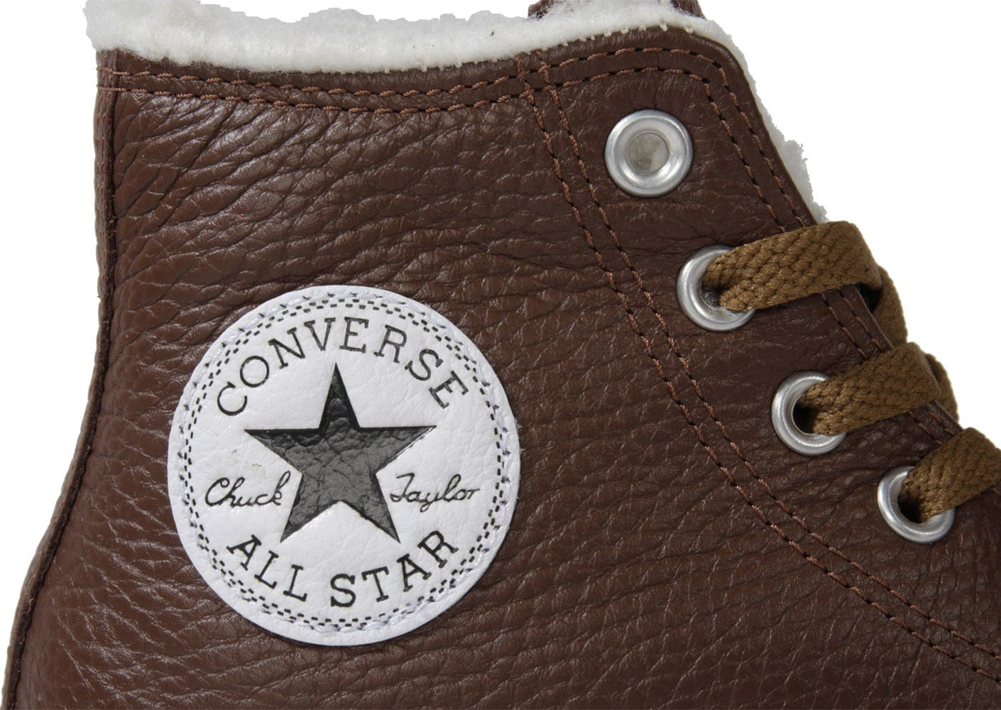 Converse Chuck Taylor All star Cuir Chocolat Chaussures