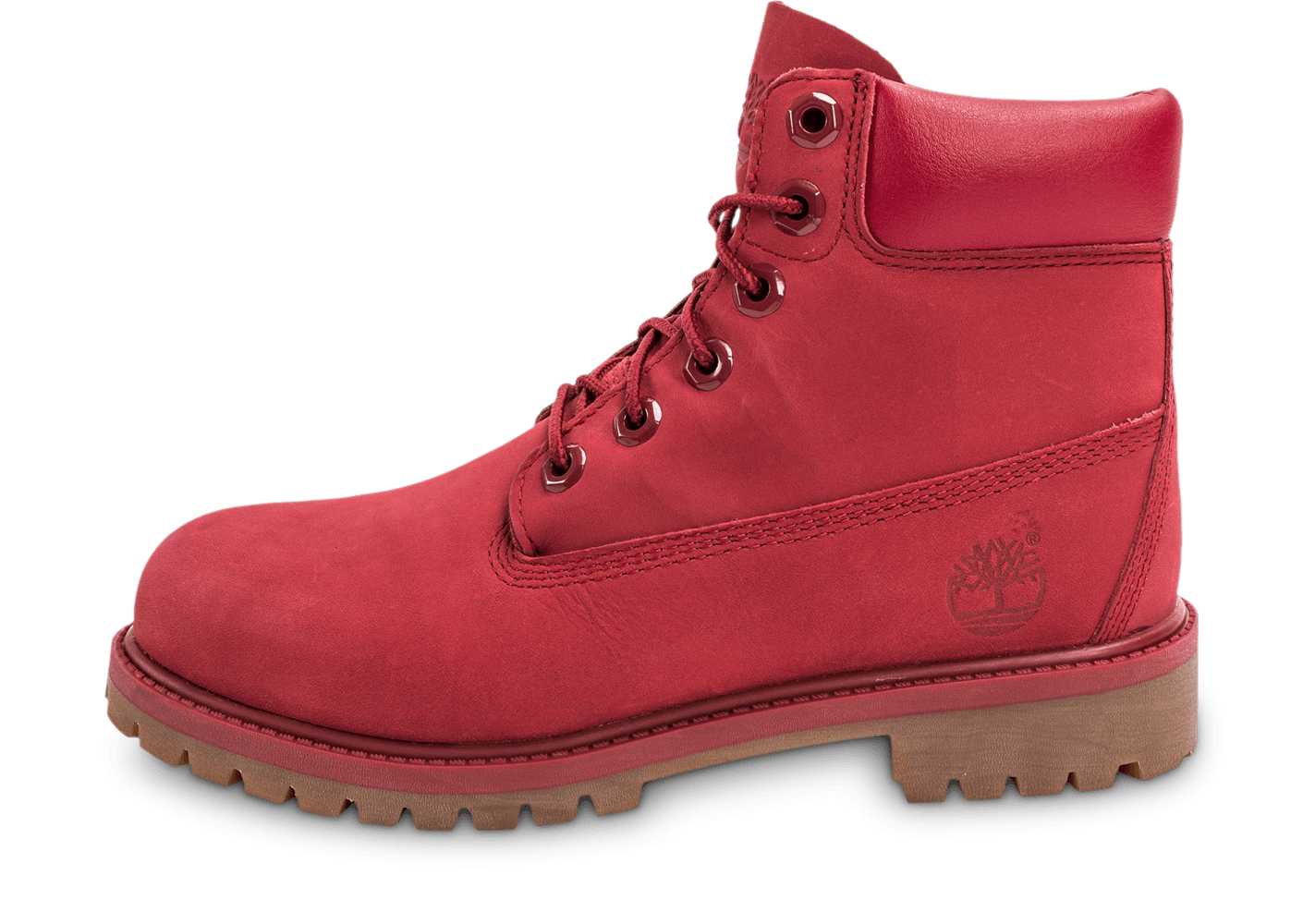 timberland montante rouge