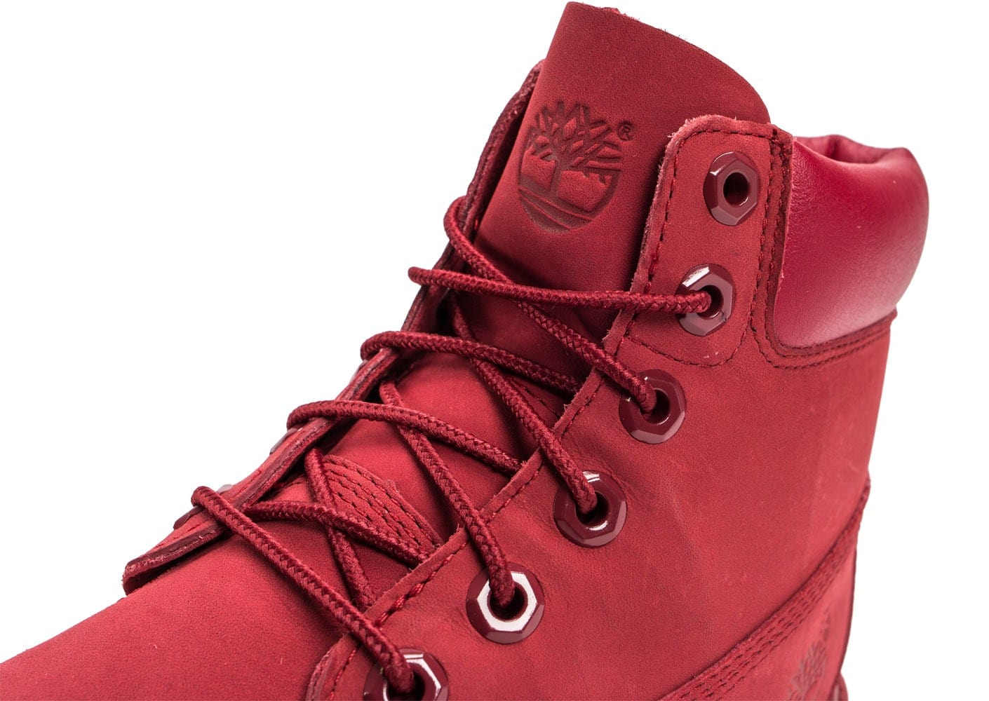Timberland 6 Inch Premium WP Boot Junior rouge Chaussures