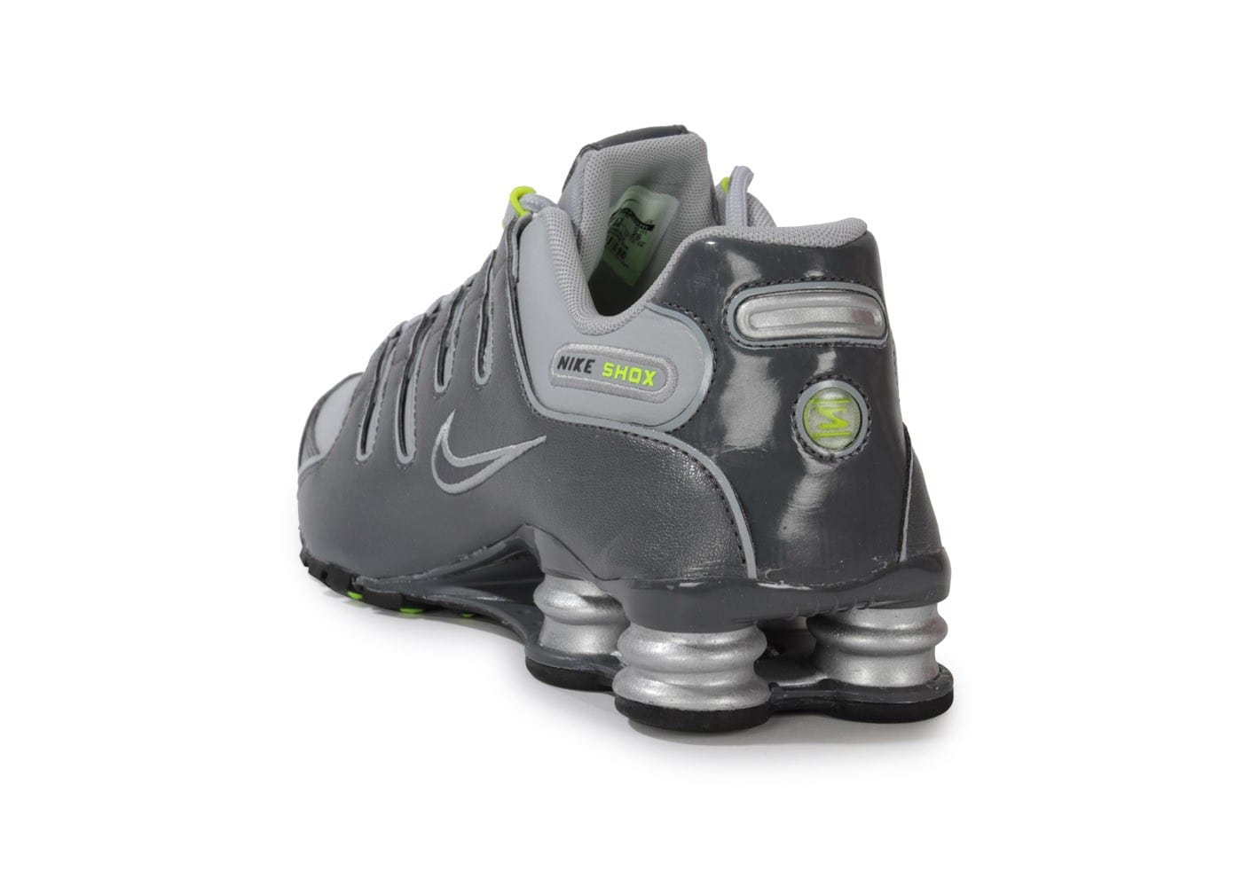 factory price fc875 bf987 ... Chaussures Nike Shox Nz Grise vue arrière ...