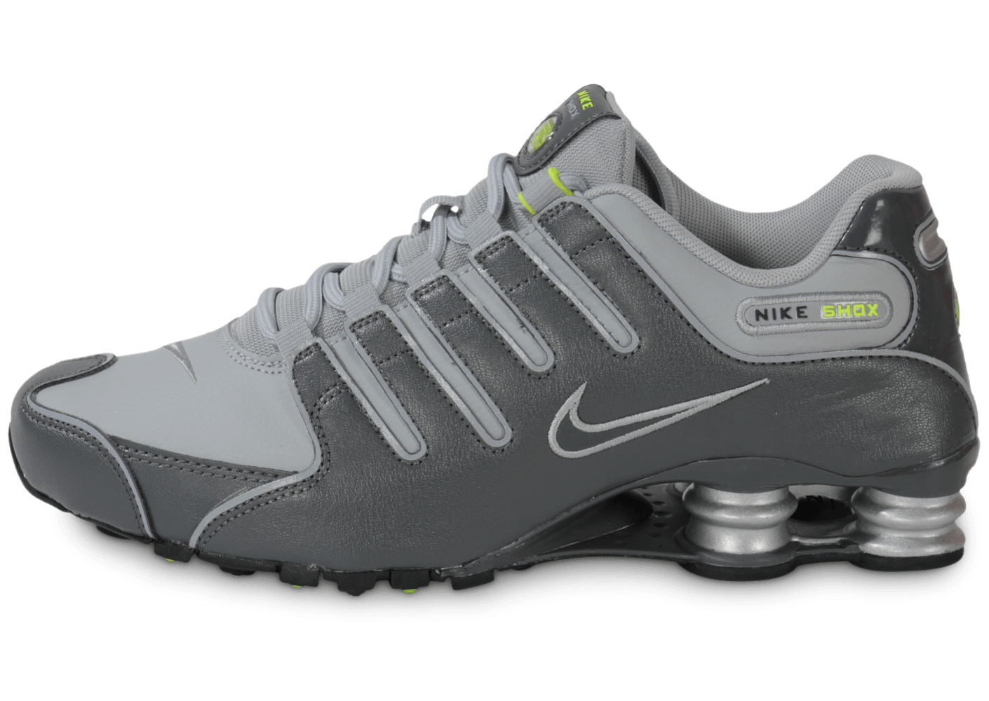 sports shoes e34bf 90f6a ... promo code for nike shox nz grise chaussures baskets homme chausport  9d81d 723d4