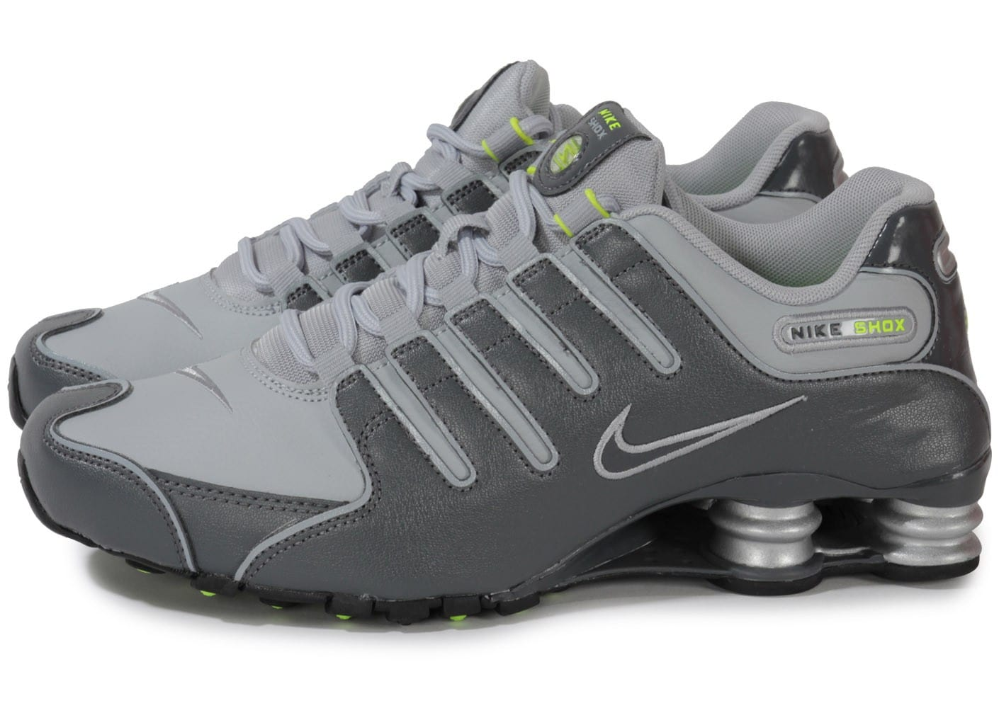 best supplier coupon codes casual shoes Nike Shox Nz Grise - Chaussures Baskets homme - Chausport
