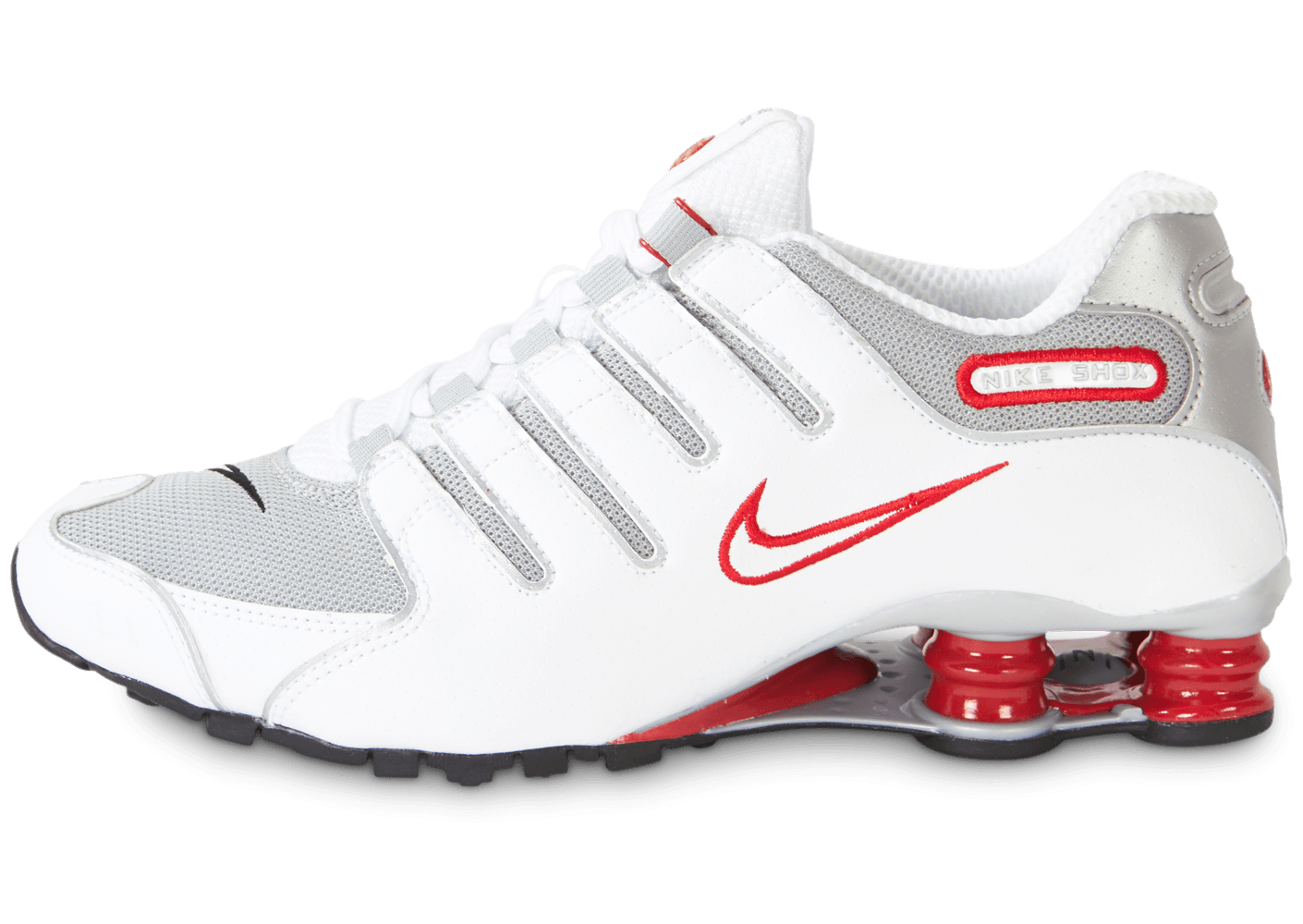 chaussure nike blanc rouge