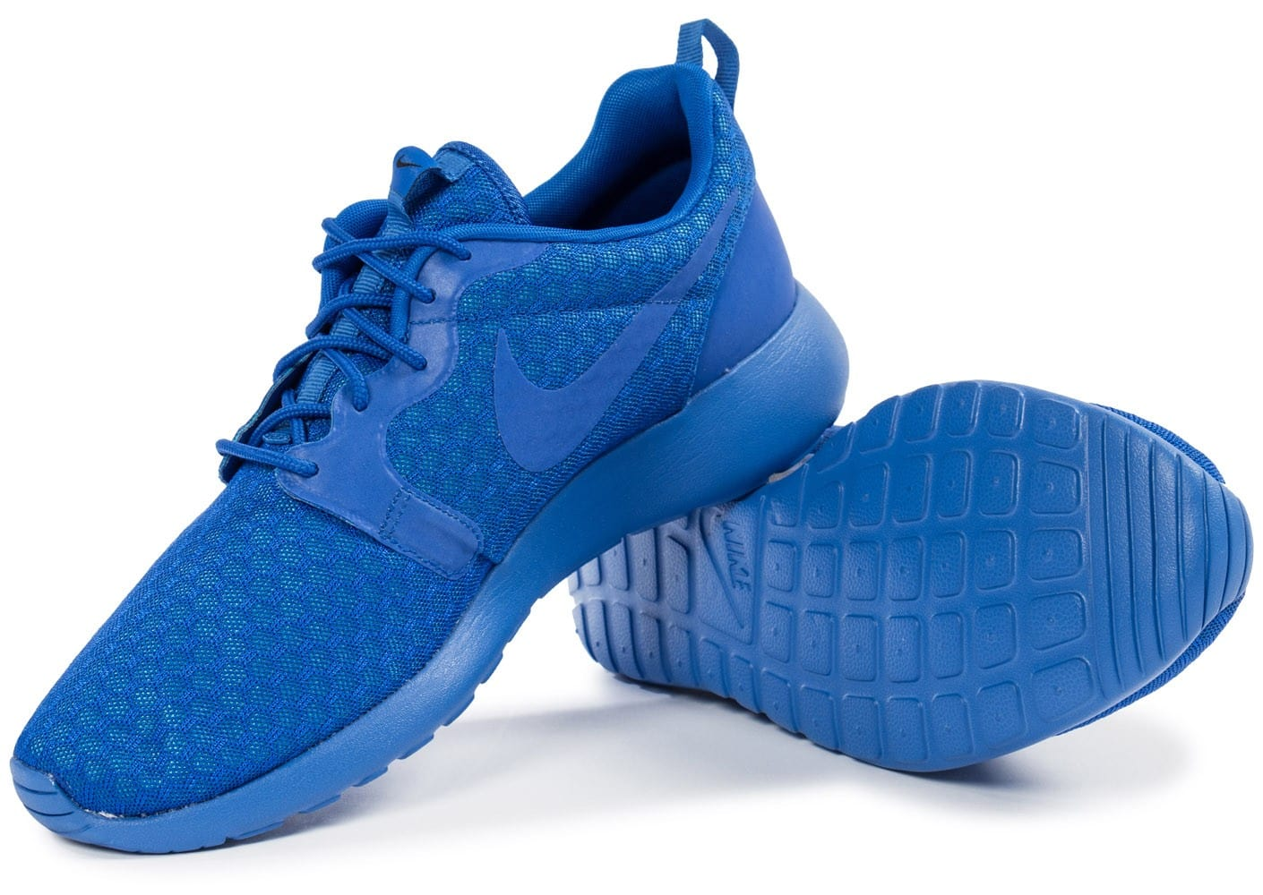 Nike Roshe One Hyperfuse bleue Chaussures Baskets homme