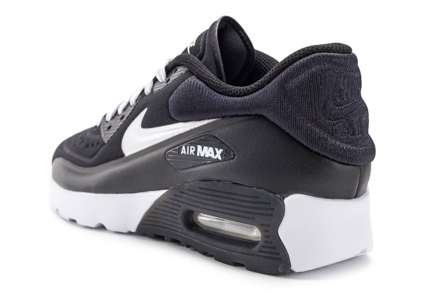 nike air max 90 ultra essential junior noire et blanche chaussures chaussures chausport. Black Bedroom Furniture Sets. Home Design Ideas