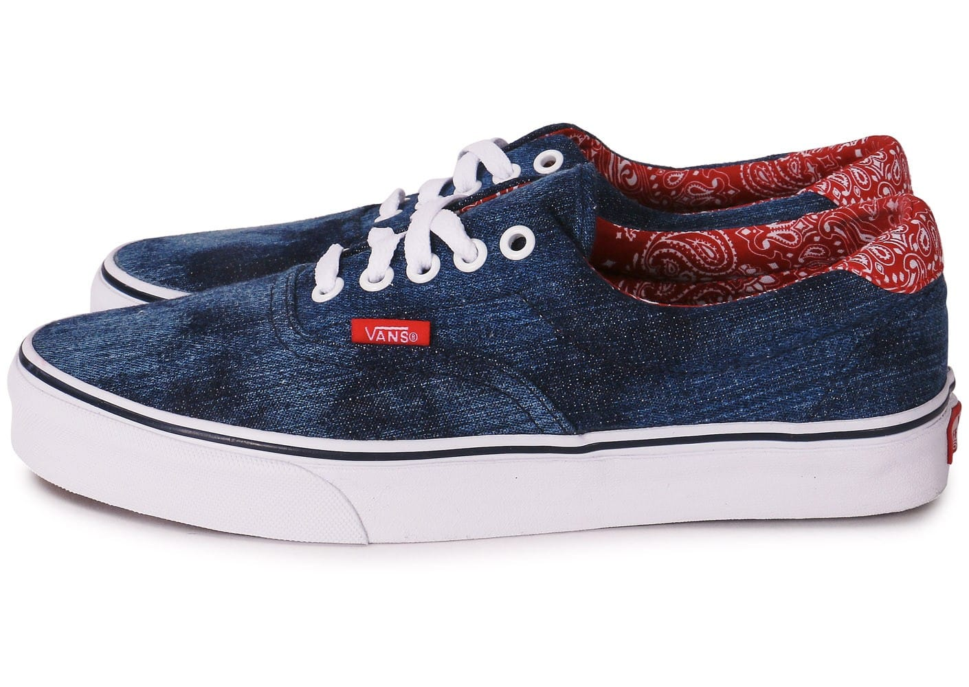 Chaussures Vans Era homme Red Rose hysXEICc27