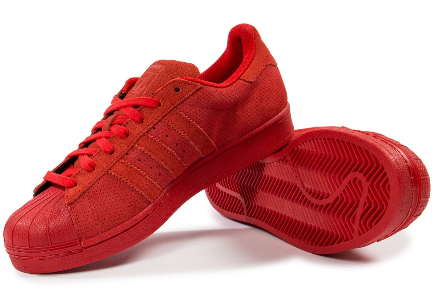 Adidas Superstar Homme Chausport Rouge Chaussures Suede Baskets JKcT1lF